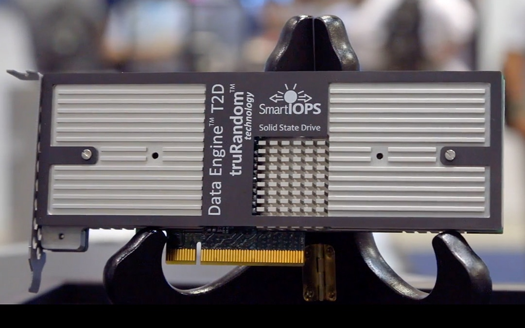 Smart IOPS Exits Stealth Mode, Announces Industry's Fastest PCIe NVMe SSD and Flash Appliance Product Lines