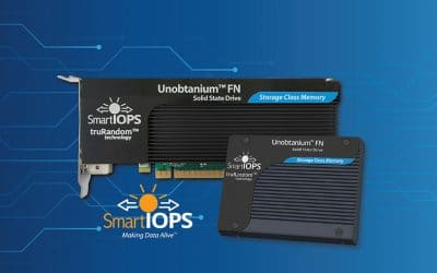 Smart IOPS Rattles Storage Class Memory Market with the Introduction of Its New Unobtanium™ FN SSD